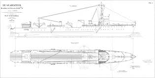 Wooden Model Ship Plans Free by 1933 French Net Laying Ship Le Gladiateur The Model Shipwright