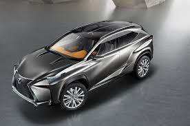lexus rx330 skid plate lexus lf nx concept first look automobile magazine