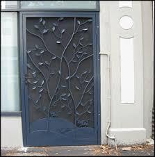 ornamental iron security doors wrought iron security doors