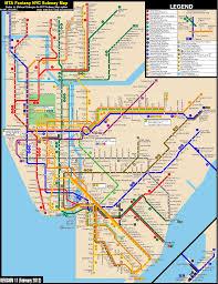 Nyc Subway Track Map by Future Nyc Subway Map My Blog