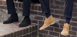 clarks desert boots men men