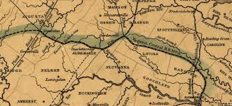 Map Of Central Virginia by Association For The Preservation Of Beaverdam Depot About Us