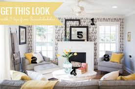 Farmhouse Living Room Furniture Remodelaholic Get This Look Contemporary Farmhouse Living Room