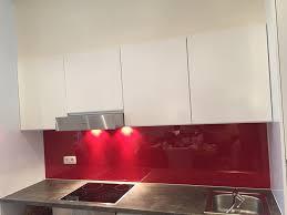 credence cuisine verre trempé crédence de cuisine en verre trempé 6 mm vitrerie glass