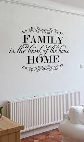 is home wall decal