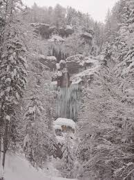 free images landscape tree nature forest waterfall snow
