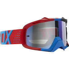 dragon motocross goggles fox racing 2016 air defence mx goggles libra blue red blue spark