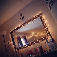 Room Lights String by Cute Room Mirror Bedroom Pinterest Room Room Ideas