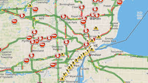 Where Is Puerto Rico On The Map Metro Detroit Traffic Conditions Check Map Closures