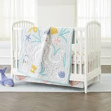 Next Crib Bedding Baby Bedding Marine Octopus Crib Bedding Crate And Barrel