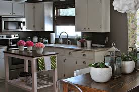 gray kitchen with white cabinets gray kitchen with white cabinets
