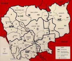 Map Of Cambodia Cambodian Genocide Genocide Studies Program