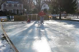 Build A Backyard Ice Rink Building A Backyard Ice Rink Media Magazine
