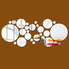 Decorative Wall Mirror Sets Online Get Cheap Circle Mirror Set Aliexpress Com Alibaba Group