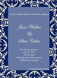 download invitation template wedding invitation templates free