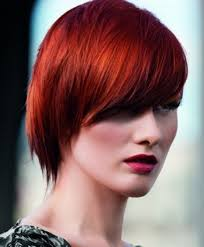 short blonde haircuts with red highlights short haircut red hair