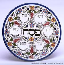 the passover plate the seder meal