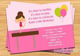 free printable gymnastic birthday invitations u2013 updated drevio