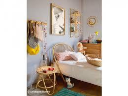 chambre en osier décoration chambre osier