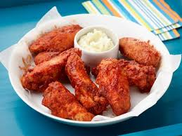 bbq chicken wings with blue cheese butter recipe geoffrey