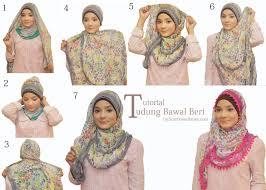 tutorial jilbab ala ivan gunawan 24 ide tutorial hijab segi empat motif untuk kamu tutorial hijab