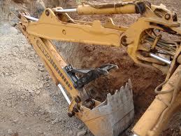 mt1035 excavator thumb installed on a case excavator mt1035