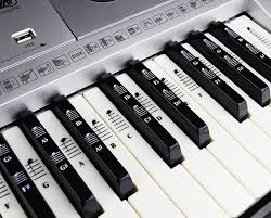 piano keyboard reviews and buying guide amazon com piano and keyboard music note full set stickers for