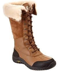 womens ugg hiking boots ugg ugg s adirondack waterproof leather boot bluefly com