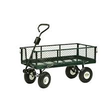 Cart by Sandusky 3 Cu Ft 18 In W Utility Cart Cw3418 The Home Depot