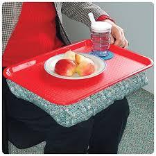 tray bean bag dinner lap action medical