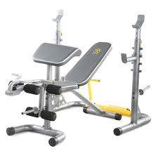 bench golds gym weight bench set golds gym xrs weight bench