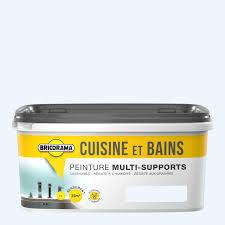 bricorama cuisine peinture cuisine et salle de bain bricorama blanc coton 2l