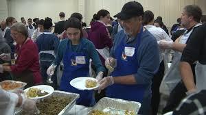raul jimenez thanksgiving dinner volunteers attendees reflect