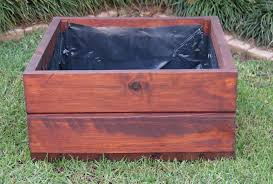 wooden planter boxes u2014 wood pioneers wendy house manufacturers