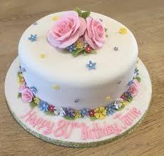 80th birthday cakes pretty 80th birthday cake bates cakes