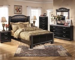 Bedroom Set Wilmington Nc Futuristic Black Lacquer Wood Ashley Bedroom Furniture Set With Bronze Nickel Headboard And Pulls Handles Drawers Jpg