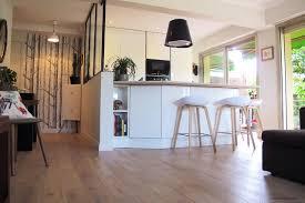 verriere interieur cuisine cuisine ouverture et verrière intérieure contemporain cuisine