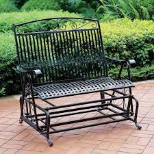 Patio Furniture Glider by Outdoor Glider Loveseat