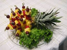fruit centerpiece make a fruit centerpiece by ruby bayan freelance writer