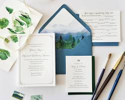 mountain wedding invitations mike hello tenfold wedding invitations