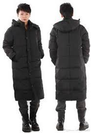 Plus Size Urban Clothes Long Thicken Men Winter Coat Black Down Jacket Plus Size Xxl Mens