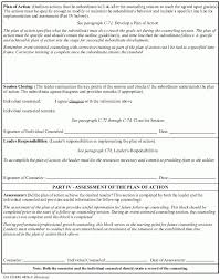 Counseling Form 4856 Fillable Da Form 4856 Exles Of Exles