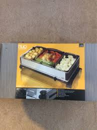 used nuo buffet server and warming tray in ox11 didcot for 15 00