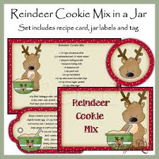 100 cookie mix in jars for christmas a gift in a tin
