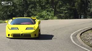 yellow bugatti yellow bugatti eb110 supersport front view sssupersports