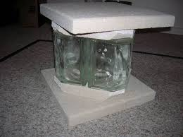 Glass Table Legs Any Creative Ideas On How To Build Some Legs Bases For My New