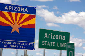 Az State Flag File Arizona Sign Arizona State Line Flag Of Arizona