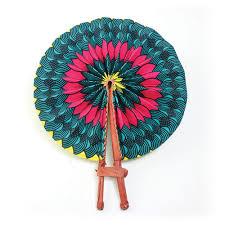 folding fan floral leather folding fan woven fans africa imports