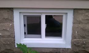 chic and creative installing basement windows in concrete block