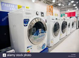 New Clothes Dryers For Sale New Washing Machines For Sale Inside A Comet Store Hereford Uk